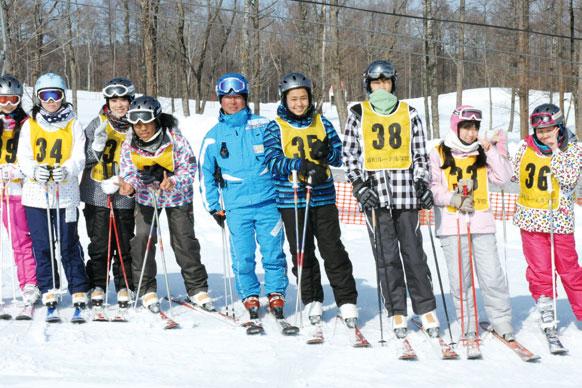 冬の山の上学校(~3月)