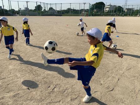 <サッカー教室>