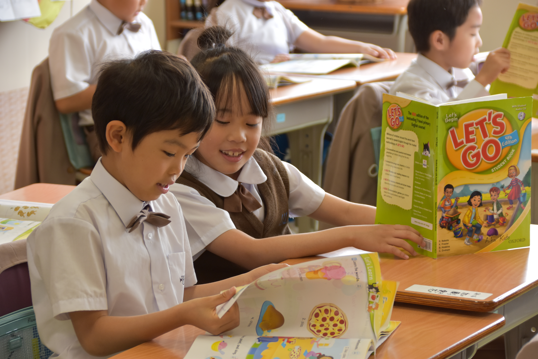 1年生からの英語の授業